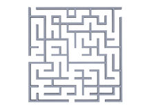 迷宫 免版税图库摄影