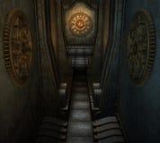 迷宫steampunk 库存照片