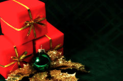 迷离圣诞节 免版税库存照片