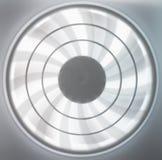 迷离移动的透气,转动的风扇叶片 免版税库存照片