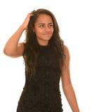 迷茫的青少年的女孩 免版税库存照片