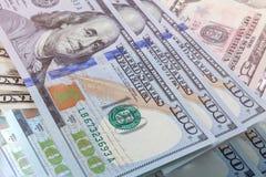 迷离美元银行背景 免版税图库摄影