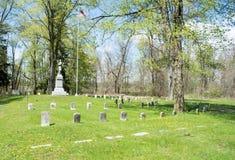 退伍军人区分公墓 库存图片
