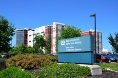 退伍军人的医院,安娜堡, MI 免版税库存图片