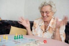 退休人员 库存照片