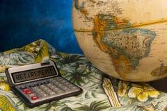 退休和退休金计划 免版税库存图片