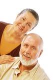 退休的夫妇愉快