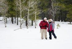 退休的有效的夫妇 免版税库存图片
