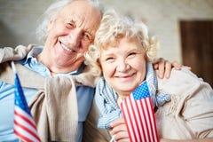 退休的爱国者 免版税库存照片