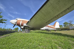 退休的道格拉斯DC-3达可它 库存照片
