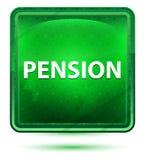 退休金霓虹浅绿色的方形的按钮 向量例证