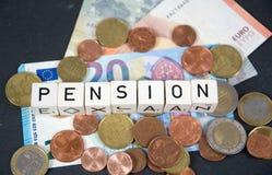 退休金 免版税图库摄影