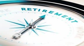 退休 库存例证