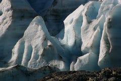 退出冰川 库存照片