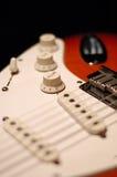 退色的吉他 库存照片