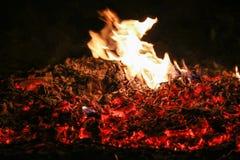 退色的火焰 免版税库存图片