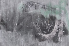 退色的砖墙 免版税库存照片