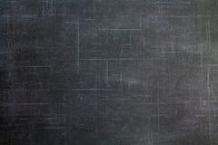 退色的被弄皱的黑Backround 库存图片