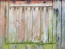 退色的被风化的木板条 库存照片