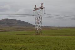 送电线 免版税库存图片