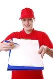 送货业务 免版税图库摄影