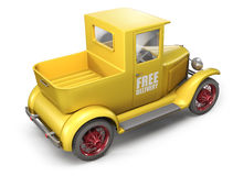 送货卡车 皇族释放例证