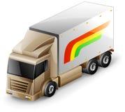 送货卡车 免版税库存图片