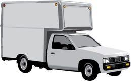 送货卡车 免版税图库摄影