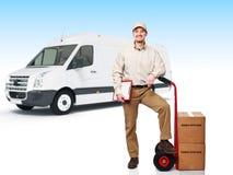 送货业务 免版税库存图片