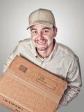 送货人纵向 免版税图库摄影