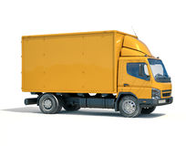 送货卡车象 免版税库存照片