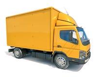 送货卡车象 图库摄影