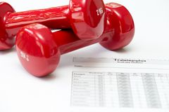 适合和健康 免版税图库摄影