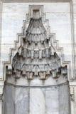 适当位置细节在清真寺的墙壁的 免版税库存图片