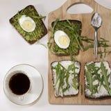 适当的能量的理想的早餐全天的 免版税库存图片
