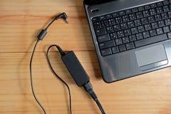 适配器便携式计算机力量充电器  库存照片