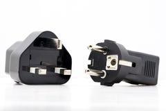 适配器插口电子插座 免版税库存图片