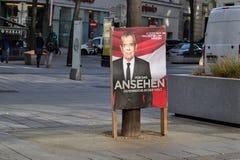 总统选举奥地利 免版税库存照片
