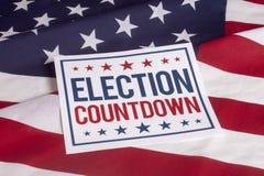 选举日总统表决 库存照片
