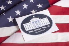 选举日总统表决 免版税图库摄影