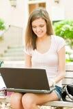 选件类准备好的学员年轻人 免版税库存图片