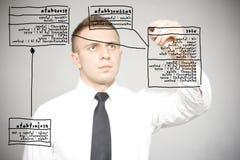 选件类绘制 免版税库存照片