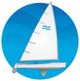选件类芬兰人风船 库存例证