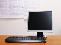 选件类计算机室 免版税图库摄影