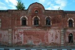选出/利佩茨克州,俄罗斯- 2017年5月09日:老烟草工厂 库存图片