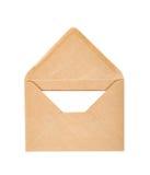 选拔被隔绝的被打开的信封 库存照片