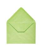 选拔被隔绝的被打开的信封 库存图片