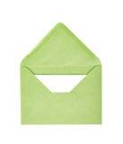 选拔被隔绝的被打开的信封 免版税库存图片
