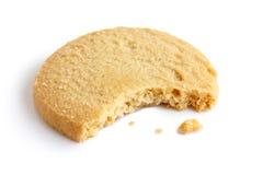 选拔围绕与面包屑和叮咬失踪的脆饼饼干 在 免版税库存照片