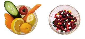 选择健康 免版税库存图片